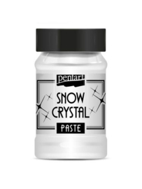 35100-Pentart Snow Crystal pasta-100 ml