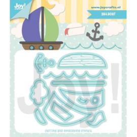 6002/1414-Zeilboot-Jocelijne Design
