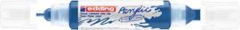 edding-5400 Acrylic Marker gentiaanblauw 1 ST 2-3/5-10mm / 4-5400903