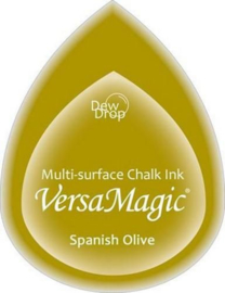 GD-000-059-Spanish Olive-Versa Magic Stempelkissen Dew Drop