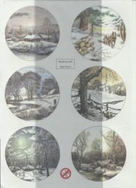 BOWOC 150-2209-UV sneeuwlandschap uitdrukvel