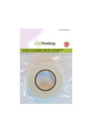 119491/3010-CraftEmotions Foam tape 1 mm dubbelzijdig 2 MT 1 RL 3.3010