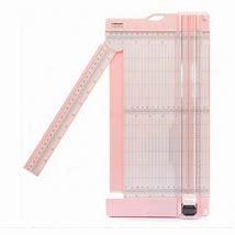 2207-110 - Vaessen Creative • Papiersnijder met rilfunctie 15x30,5cm roze