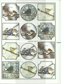 BOJE 100-NJ0023-KN Vogels knipvel