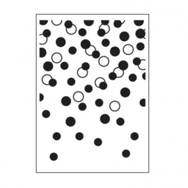 30008385-Darice Embossingfolder 10,8x14,6cm-Gradual dots