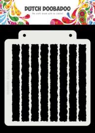 470.715.149- Dutch Doobadoo Dutch Mask Art-  Grunge Strip - 163x148