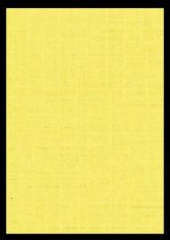 11-LI-9728-A4  geel linnenpersing