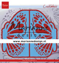 LR0638 - Marianne Design  Gate folding die Butterfly