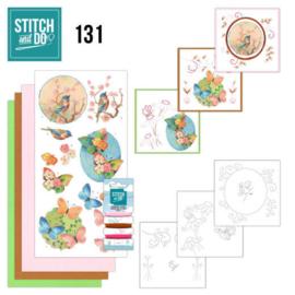 STDO131 - Stitch and DO 131 Birds and Blossems