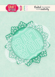 Craft&You Cutting Die Doily 1 CW103
