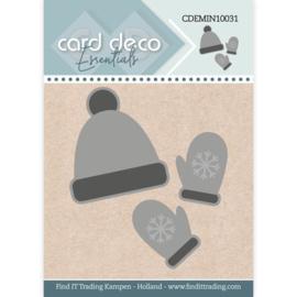 CDEMIN10031 - Card Deco Essentials - Mini Dies - Winter Wear