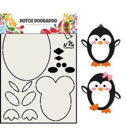 470.713.842- Omschrijving Card Art Built up Pinguin