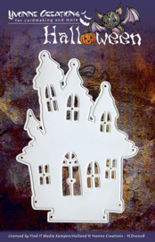 YCD10008-Die - Yvonne Creations - Halloween - Haunted House