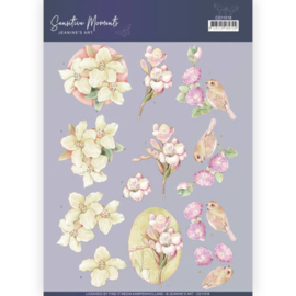 CD11518-3D Cutting Sheet - Jeanine's Art - Sensitive Moments - Freesias