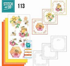 STDO113 - Stitch and Do 113 Honey Bees