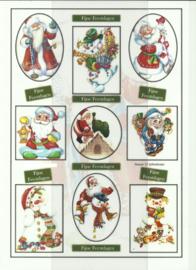 BOJE 100-NJ0037-KN Kerstpoppetjes knipvel