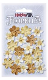 3866004-    FLORELLA-Blüten gelb, 2cm
