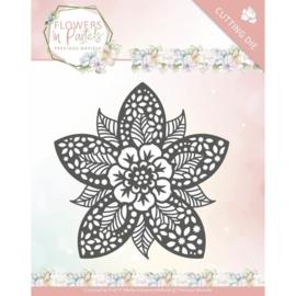 PM10135 - Precious Marieke - Flowers in Pastels - Reverse Flower