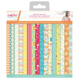 S-CF-PAD6-Crafty Fun - 15x15 cm Paperpad -crafters Companion