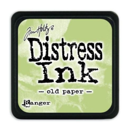 Ranger Distress Mini Ink pad - Old paper- TDP40057 Tim Holtz