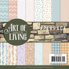JAPP10007-Paperpack-Jeanine's Art - Art of Living