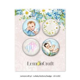 LD-LU01-Lemoncraft-Buttons/badge-4 stuks