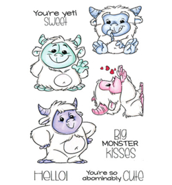 CCD-0184-Clear Stamp Abominable-CCDesigns