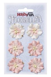 3866051-FLORELLA-Blüten zart-rosa, 3,5cm