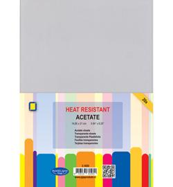 3.1035-Heat Resistant Acetate-A5(14.85 x 21 cm) - 20 Bogen