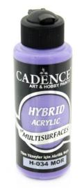301200/0034 - Cadence Hybride acrylverf (semi mat) Paars