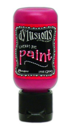 DYQ70429 - Ranger Dylusions Paint Flip Cap Bottle - Cherry Pie