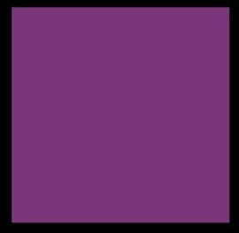scv 250-20093 30,5 x 30,5 cm. Karton violet glad 25 Bogen