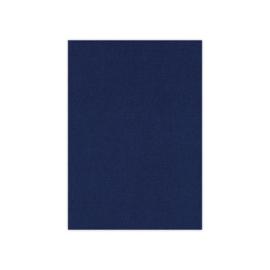 BLKG-4K30-Linnenkarton - Vierkant - Donkerblauw- 8 vel