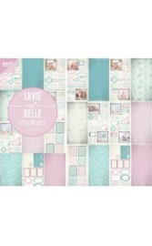 6011/0384 - La Vie est Belle designpapier blok