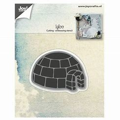 6002/0688-igloo embossing stencil