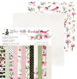 "C-Paper pad Hello Beautiful- 6""x6"""