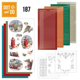 DODO187-    Dot and Do 187 - Amy Design - Nostalgic Christmas - Christmas Train
