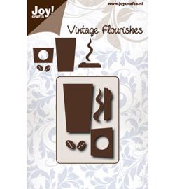 6003/0085 - Snijstencil - VF – Coffeecup-Joycrafts