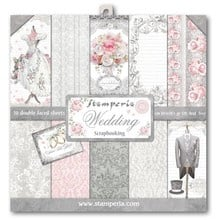 SBBL18-Stamperia Wedding 12x12 Inch Paper Pack