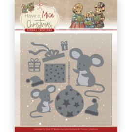 Have a mice christmas YCD10252 snijmal