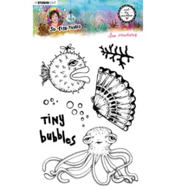 ABM-SFT-STAMP13 - ABM Clear Stamp Sea creatures So-Fish-Ticated nr.13
