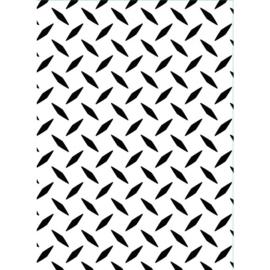 1218-101-Darice Embossingfolder 10,8x14,6cm-Diamond puzzle