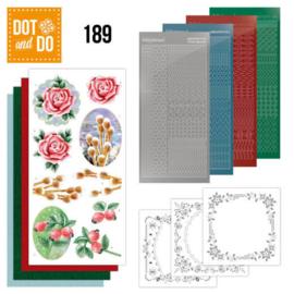DODO189-Dot and Do 189 - Jeanine's Art - Winter Flowers