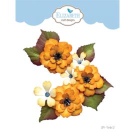 1874-Elizabeth Craft Designs- Florals 13
