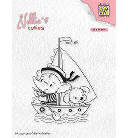 NCCS010 -Nellie's Choice- Young sailors-clear stempel
