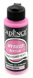 301200/0025 - Cadence Hybride acrylverf (semi mat) Fushsia