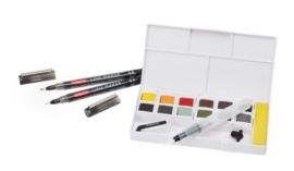 Derwent paint pan set