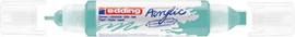 edding-5400 Acrylic Marker opulent turquoise 1 ST 2-3/5-10mm / 4-5400934
