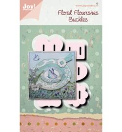 6002/1566 - Joy crafts - Floral Flourishes Buckles