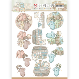 SB10520 - 3D Push Out - Yvonne Creations - Newborn - Baby Clothes